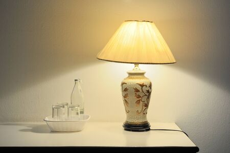 Decorative table lamp Stock Photo - 18457111