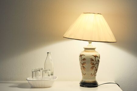 Decorative table lamp photo