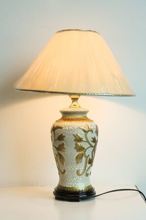 Decorative table lamp Stock Photo - 18457098
