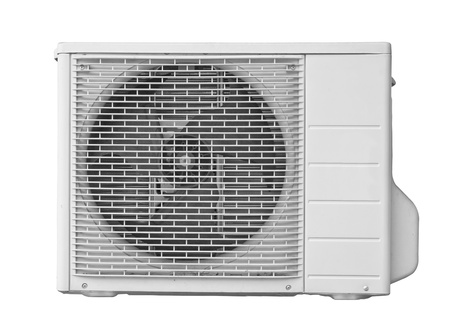 Air conditioner isolate on white background Stock Photo - 18665809