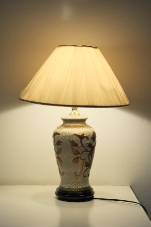 lampshade: table lamp