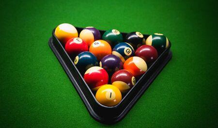 billiard: Billiard balls - pool