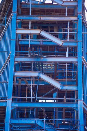 steel structure: the structure steel of building tower