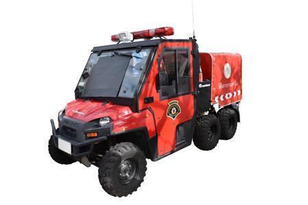 ministration: mini fire & rescue car, Bangkok, Thailand