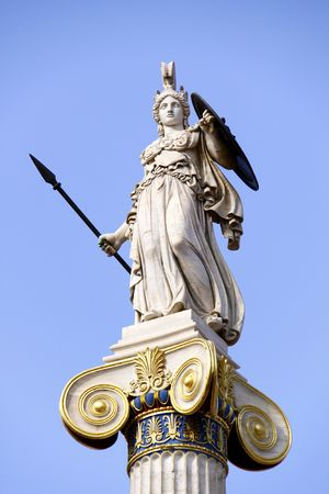 greek gods: Athena