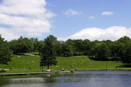 Mont-Royal Park, Montreal Фото со стока - 5501632