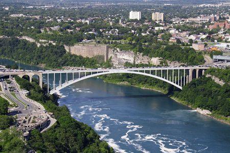 Niagara Falls, Ontario Standard-Bild