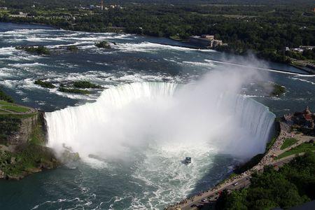 Niagara Falls, Ontario Фото со стока - 5501159