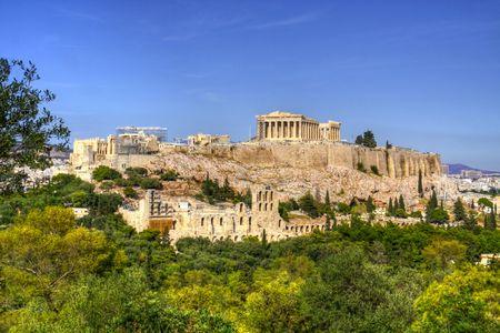 Akropolis Standard-Bild