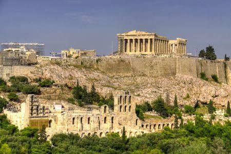 Acropolis 스톡 콘텐츠