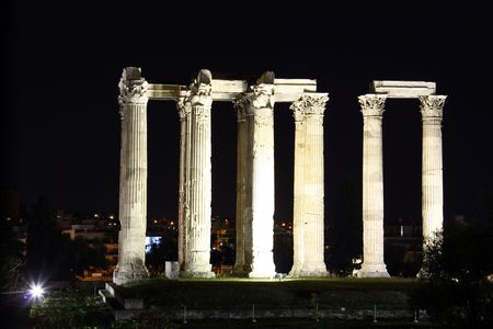 Hadrians Temple Standard-Bild