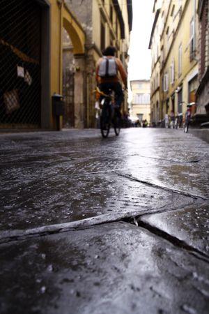 Old road in Italy Standard-Bild