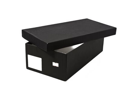 blank box: Open shoe box