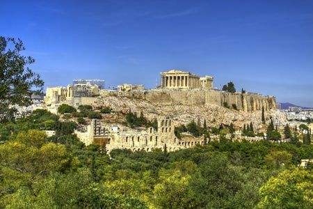 The historical monument of Greece, the Acropolis photo
