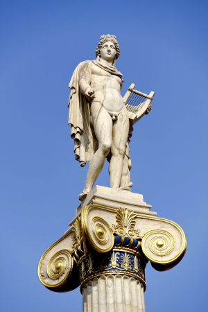 lyre: Apollo the famous Greek God , son of Zeus and Leto