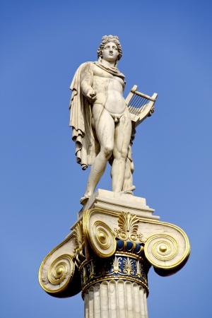 neoclassic: Apollo the famous Greek God , son of Zeus and Leto