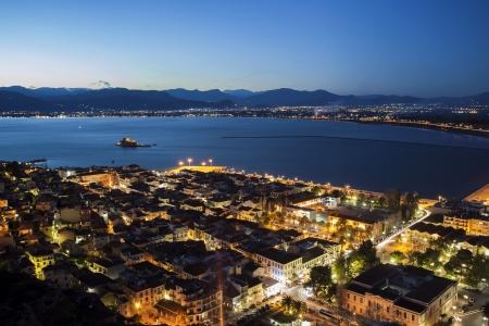 nafplio: Nafplio by night, Greece