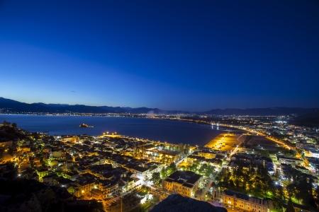 Nafplio by night, Greece