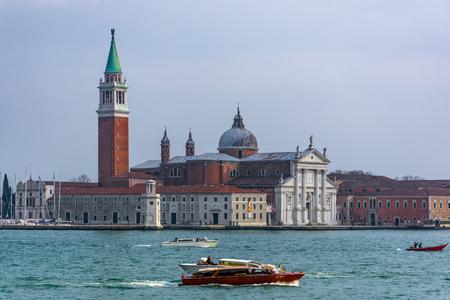 San Giorgio Maggiore Island, view from Piazza San Marco, Venice, Italy