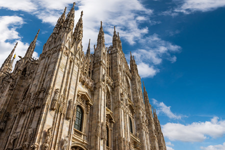 Milan Cathedral, Duomo di Milano, is the gothic cathedral church of Milan, Italy