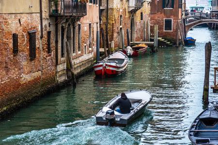 Canal in Venice, Italy Stock fotó