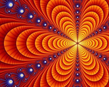 unendlich: Kleinen Teil der Juila gesetzt fraktale, eine mathematische Gleichung resultierenden in unendlich wiederholen Selbst-�hnlichen Geometrie.