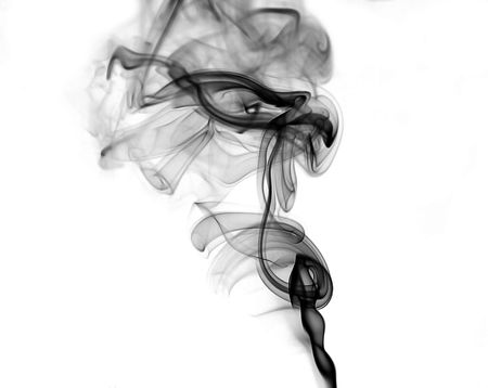 black smoke: Abstract Smoke