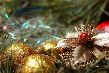 Christmas decorations photo