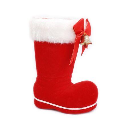 free christmas background: Christmas boot