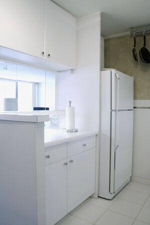 White Kitchen Stock Photo