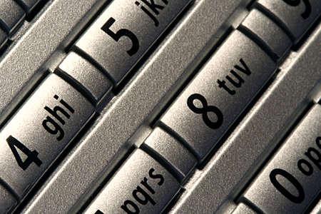 Close up of telephone number keypad Stock Photo - 2613898