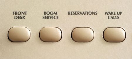 Hotel Phone Buttons