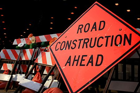 Road Construction Sign Stock Photo - 2776085