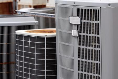 Commercial Air Conditioners Reklamní fotografie