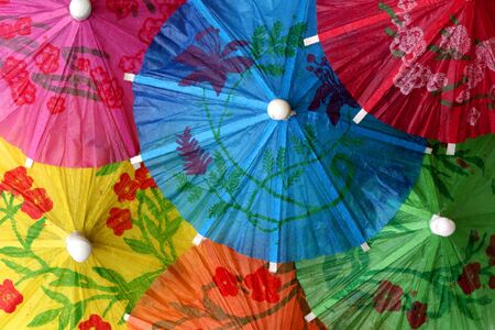 Cocktail Umbrellas photo