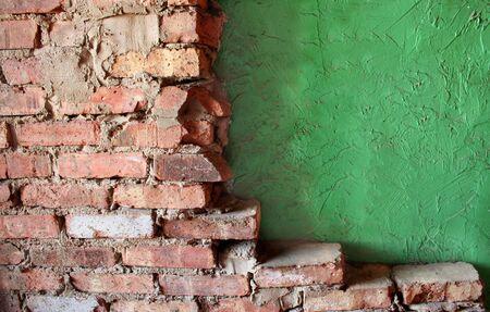 stucco: Brick and Stucco Walls
