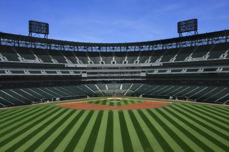 Estadio de Béisbol  Foto de archivo - 3317892