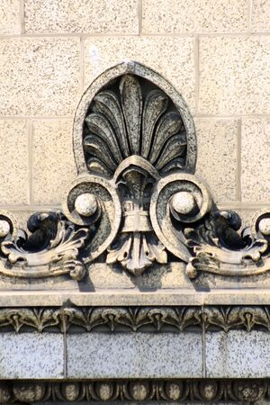 Fleur de lys on building Stock Photo - 3397530