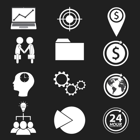 24: Business and finance icon. vector illustration.