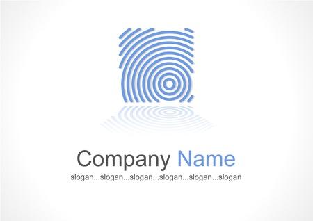 logotipo abstracto: empresa abstracta plantilla de logotipo
