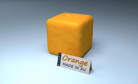 foolishness: Orange Cube Made In EU  Example Of Stupid And Useless EU Regulations