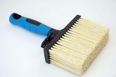 emulsion: Emulsion paint brush. Stock Photo