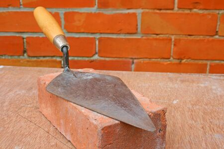 Bricklayers trowel.