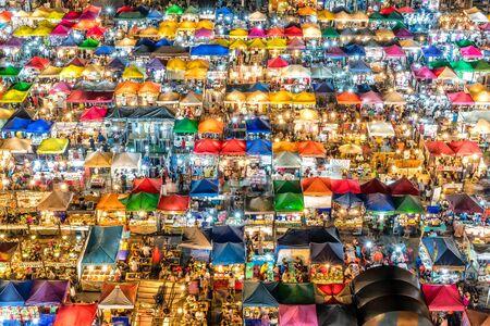 Bangkok Night Market - Bangkok, Thailand