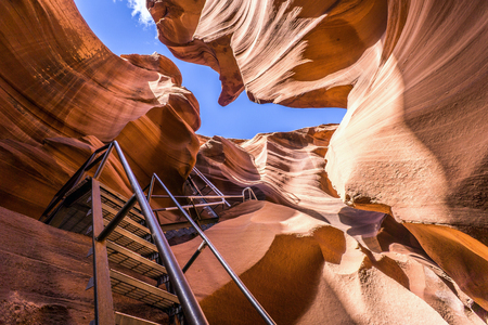 Lower Antelope Canyon Ladder Entrance - Page, Arizona