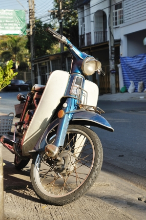 enfield: 1970s retro motorcycle old machine