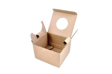 brown box paper case