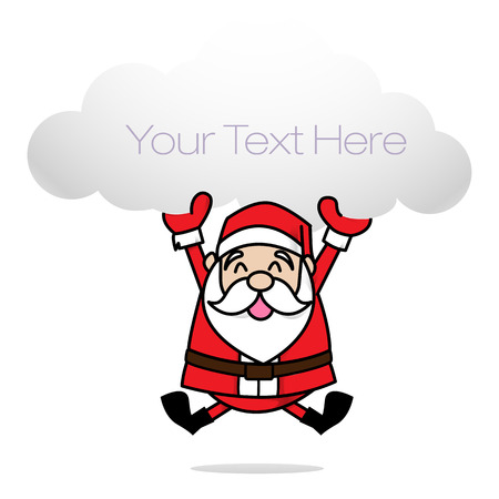 Clip art merry christmas Illustration
