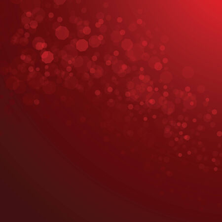 Red bokeh background vector elements, EPS10 Illustration