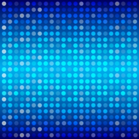 Abstract backgound buriness dot on blue gradient background Illustration